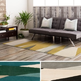 Hand Tufted Harbor Wool Rug (3' x 12')