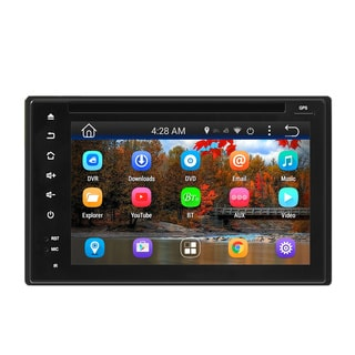 Pyle PLDNAND621 Double DIN Android Headunit Stereo Receiver, 6'' Touchscreen, Wi-Fi Web Browsing & App Download, GPS, Bluetooth
