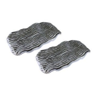 2 Bissell Zebra Print Steam Mop Pads Part # 203-2158 3255 32525 42G3A