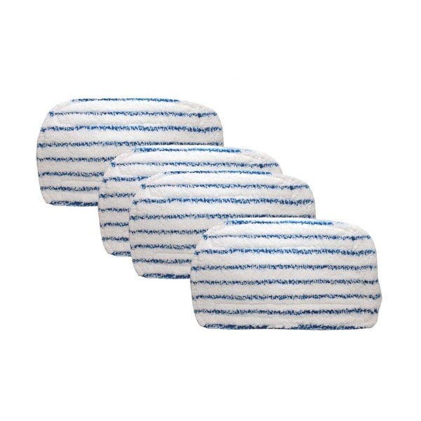 4pk Replacement Mop Pads, Fits Black & Decker Steam Mops, Washable & Reusable, Compatible with Part SMP20
