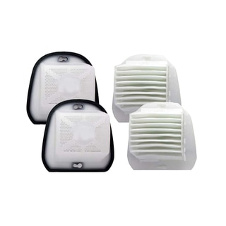 2 Black and Decker VF20 DustBuster Filters and Covers Part # 499739-00