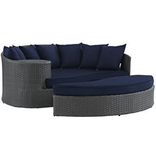 Modway Stopover Outdoor Patio Daybed. Outdoor Sofas  Chairs   Sectionals For Less   Overstock com