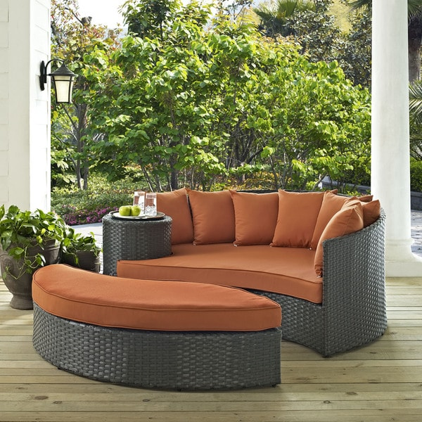 Captivating Modway Stopover Outdoor Patio Daybed