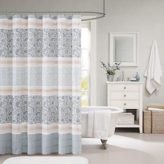 Maison Rouge Giroux Cotton Shower Curtain