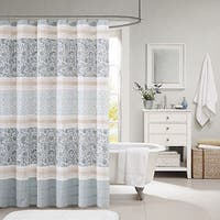 Maison Rouge Giroux Cotton Shower Curtain