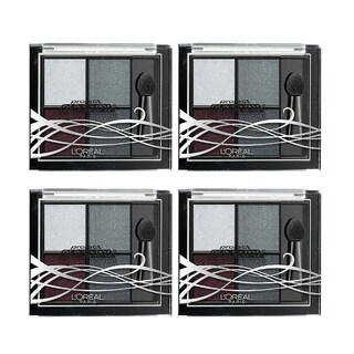 L'oreal Paris Project Runway Limited Edition 416 The Queen's Gaze Eyeshadow (Pack of 4)