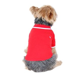 Insten Solid Color Pets Puppy Teddy Dogs Polo Shirt