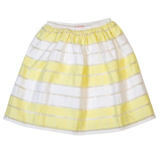 DownEast Basics Girls' Knee Length Gathered Skirt