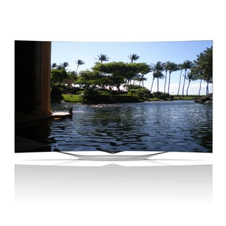Reconditoned LG 55-inch 1080p 3D Curved Smart OLED HDTV with WIFI (1 Pair 3D Glasses)-55EC9300