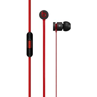 Reconditioned Beats Urbeats In Ear Earbud Headphones with Mic- Black/Red