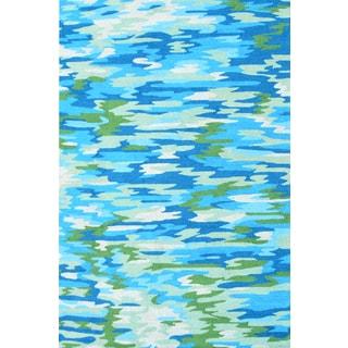 Handmade UV Polyester Camouflage Rug (5' x 8')
