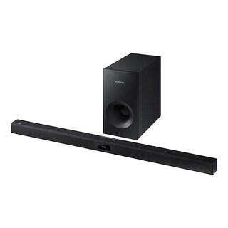Reconditioned Samsung 2.1 Channel 120-watt Wireless Audio Soundbar with Subwoofer-HW-JM35