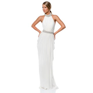 Terani Couture Halter Top Wedding Gown