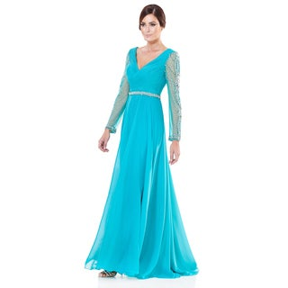 Terani Couture Chiffon Mother of the Bride Gown