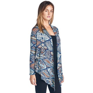 Popana Women's Super-Soft Open Front Cardigan