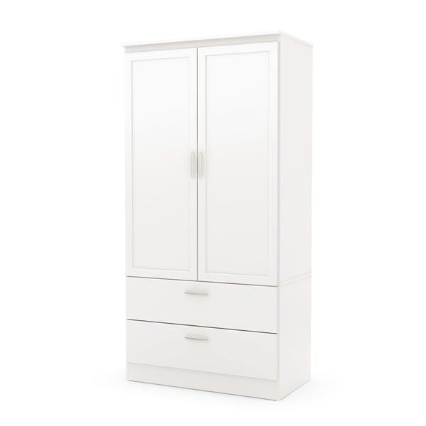 South Shore Acapella Wardrobe Armoire by South Shore Furniture