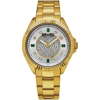 SO&CO New York Women's Madison Quartz Stainless Steel Bracelet Crystal Watch https://ak1.ostkcdn.com/images/products/11161924/P18157363.jpg?impolicy=medium