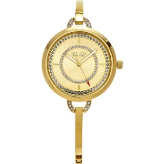 SO&CO New York Women's Madison Quartz Stainless Steel Bracelet Crystal Watch|https://ak1.ostkcdn.com/images/products/11161925/P18157364.jpg?impolicy=medium