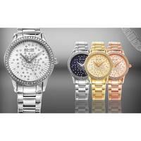 SO&CO New York Women's Lenox Quartz Stainless Steel Bracelet Crystal Watch