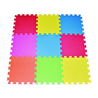 9-Piece Foam Floor Puzzle Mat for Kids