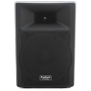Podium Pro Audio PP1507A Bluetooth 900W PA DJ 15-inch Active Speaker USB SD MP3