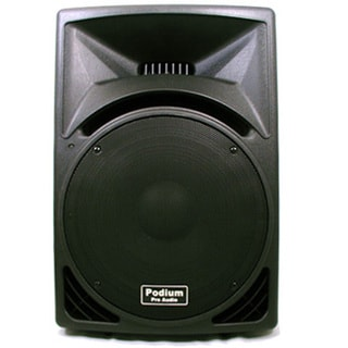Podium Pro PP1510 PA DJ Karaoke 15-inch Two-way ABS Plastic 900-watt Speaker