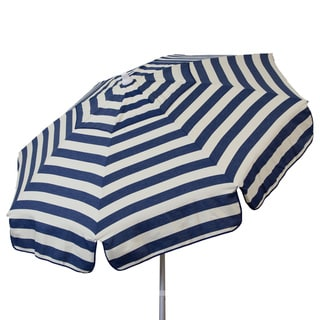 Euro 6-foot Bistro Stripe Umbrella