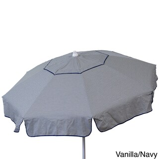Euro 6-foot Thin Stripe Bistro Umbrella (2 options available)