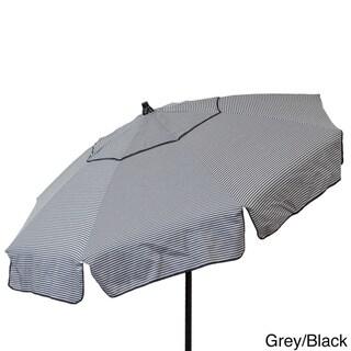 Euro 6-foot Thin Stripe Bistro Umbrella