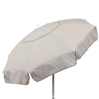 Euro 6-foot Thin Stripe Bistro Umbrella