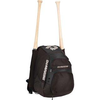 DeMarini VooDoo Paradox Black Print Baseball/Softball Backpack