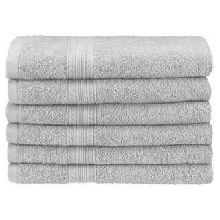 Superior Eco Friendly Cotton Soft and Absorbent Hand Towel (Set of 6)