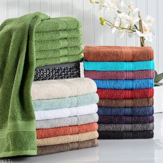 Link to Superior Eco Friendly Cotton Soft and Absorbent Hand Towel (Set of 6) Similar Items in Towels