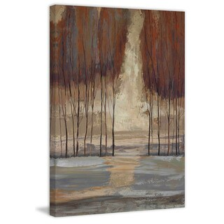 Marmont Hill - 'Wild Wood I' by Michael Woodward Painting Print on Canvas