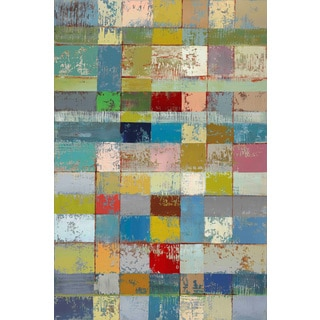 Marmont Hill - 'Color Pattern I' by Michael Woodward Painting Print on Canvas