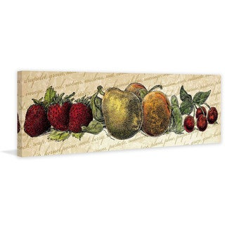 Marmont Hill - 'Fruit and Veg A' Painting Print on Canvas