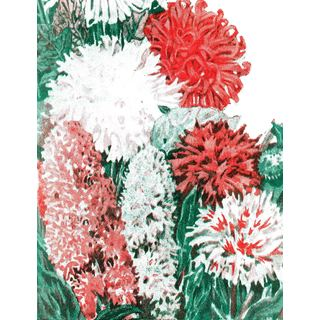 Marmont Hill - 'Seeds Flowers' Painting Print on Canvas