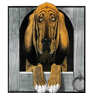 Marmont Hill - 'Journal Dog 2' Painting Print on Canvas
