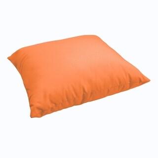 Sloane Bright Orange 26-inch Indoor/ Outdoor Floor Pillow