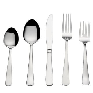 Pfaltzgraff Basics Satin Gotham 77 Pc Flatware Set