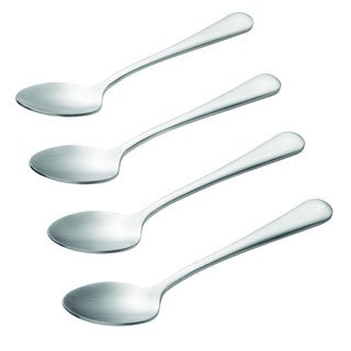 BonJour(r) Coffee Accessories 4-Piece Stainless Steel Demitasse Spoon Set