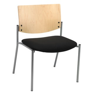 KFI Seating Evolve Guest Chair Armless with Natural Back with 400lb capacity