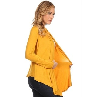 Link to Moa Collection Women's Open Cardigan Similar Items in Women's Plus-Size Clothing