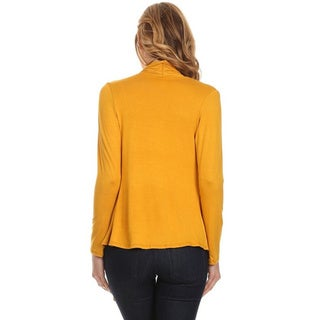 Moa Collection Women's Open Cardigan