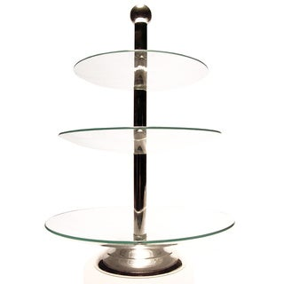 Elegance 3-Tier Glass Tray