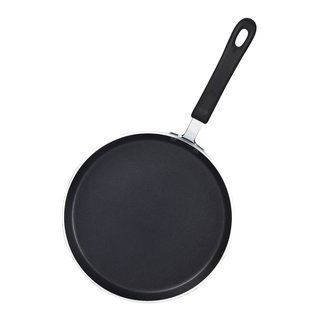 Cook N Home 02434 26cm Black Nonstick Heavy Gauge Crepe 10.25 inch Pan