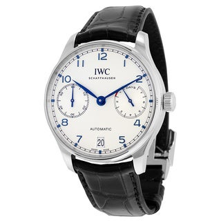 IWC Men's IW500705 Portuguese Silver Watch