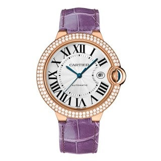 Cartier Men's WE900851 Ballon Bleu De Cartier Silver Watch