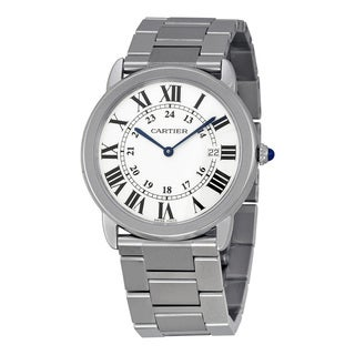 Cartier Women's W6701005 Ronde Solo De Cartier Silver Watch