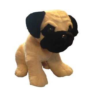Link to Classic Toy Company Pugsley the Pug Similar Items in Stuffed Toys